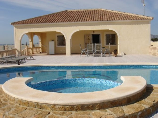 Private Villa with pool and central heating